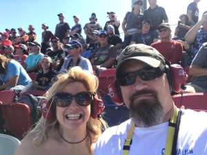 Chuck  attended Fanshield 500 - Phoenix Raceway on Mar 8th 2020 via VetTix