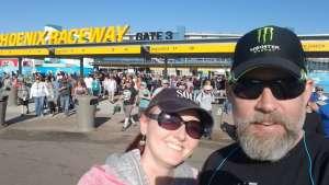Matt USMC Vet attended Fanshield 500 - Phoenix Raceway on Mar 8th 2020 via VetTix