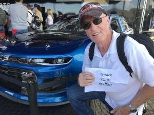 Mori Williams attended Fanshield 500 - Phoenix Raceway on Mar 8th 2020 via VetTix