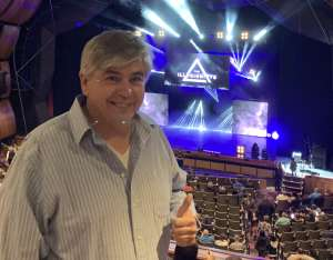 Rick attended The Illusionists - Live From Broadway (touring) on Mar 6th 2020 via VetTix