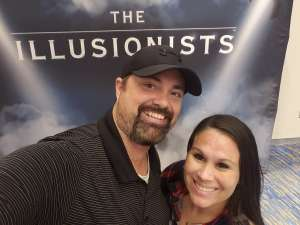 Karie Sanchez attended The Illusionists - Live From Broadway (touring) on Mar 6th 2020 via VetTix