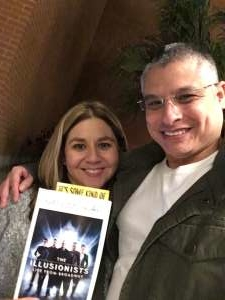 Jesse S. attended The Illusionists - Live From Broadway (touring) on Mar 6th 2020 via VetTix
