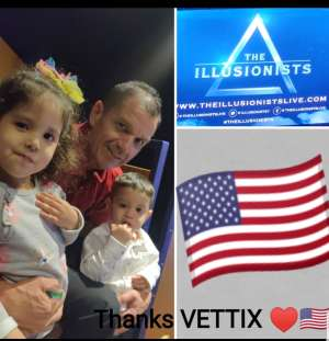 Alfonso attended The Illusionists - Live From Broadway (touring) on Mar 6th 2020 via VetTix