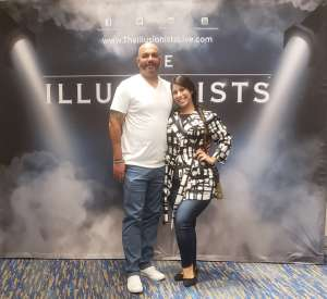 Tommy Johnson  attended The Illusionists - Live From Broadway (touring) on Mar 6th 2020 via VetTix