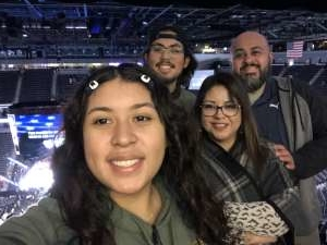 Berly Carrillo attended UFC 248 on Mar 7th 2020 via VetTix