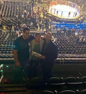 Al attended UFC 248 on Mar 7th 2020 via VetTix