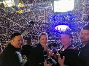 Sean attended UFC 248 on Mar 7th 2020 via VetTix