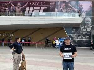 Christopher G attended UFC 248 on Mar 7th 2020 via VetTix
