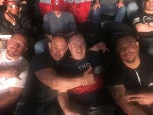 Tim attended UFC 248 on Mar 7th 2020 via VetTix