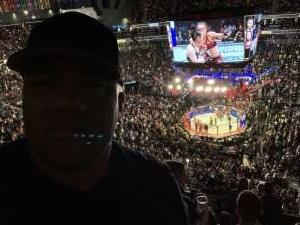 B vet 4life attended UFC 248 on Mar 7th 2020 via VetTix