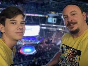 Kris attended UFC 248 on Mar 7th 2020 via VetTix