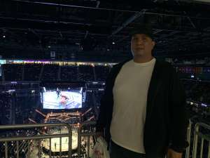 Radley attended UFC 248 on Mar 7th 2020 via VetTix