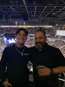 Jerry attended UFC 248 on Mar 7th 2020 via VetTix