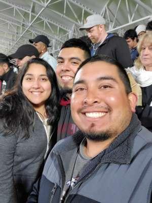 Raymond attended Austin Bold FC vs. New Mexico United - USL on Mar 7th 2020 via VetTix