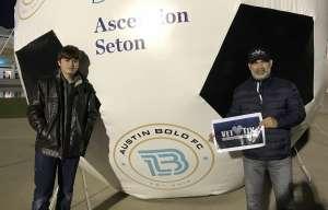 Hector attended Austin Bold FC vs. New Mexico United - USL on Mar 7th 2020 via VetTix