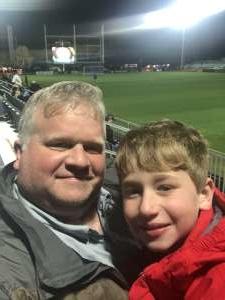 Clay attended Austin Bold FC vs. New Mexico United - USL on Mar 7th 2020 via VetTix