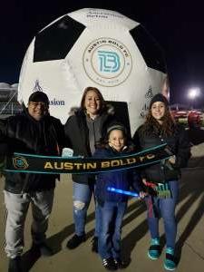 Jp17 attended Austin Bold FC vs. New Mexico United - USL on Mar 7th 2020 via VetTix