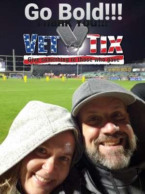 Abraham  attended Austin Bold FC vs. New Mexico United - USL on Mar 7th 2020 via VetTix
