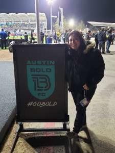 Jennifer attended Austin Bold FC vs. New Mexico United - USL on Mar 7th 2020 via VetTix