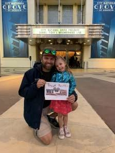 Jason R attended Daniel Tiger's Neighborhood Live: Neighbor Day on Mar 3rd 2020 via VetTix
