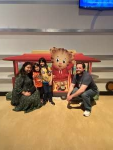 Hudson Family attended Daniel Tiger's Neighborhood Live: Neighbor Day on Mar 3rd 2020 via VetTix