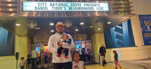 Ben Tedios attended Daniel Tiger's Neighborhood Live: Neighbor Day on Mar 3rd 2020 via VetTix
