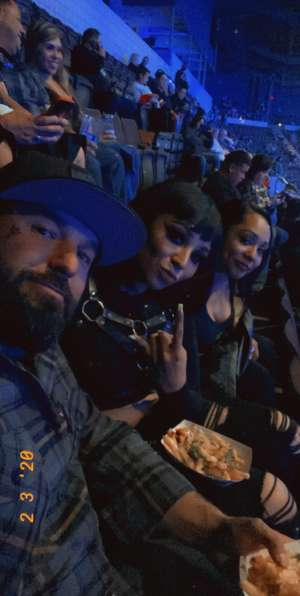 Brian Madsen attended KISS: End of the Road World Tour on Mar 2nd 2020 via VetTix