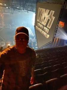 Barry Miller  attended KISS: End of the Road World Tour on Mar 2nd 2020 via VetTix