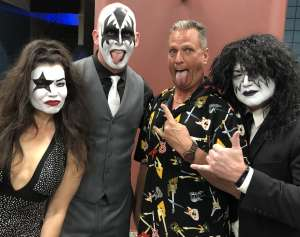 Pickle Rick attended KISS: End of the Road World Tour on Mar 2nd 2020 via VetTix