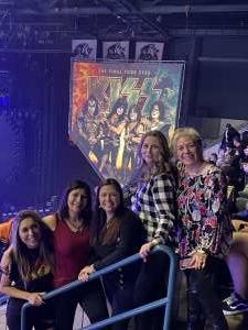 Linda Wright Navy Vet attended KISS: End of the Road World Tour on Mar 2nd 2020 via VetTix