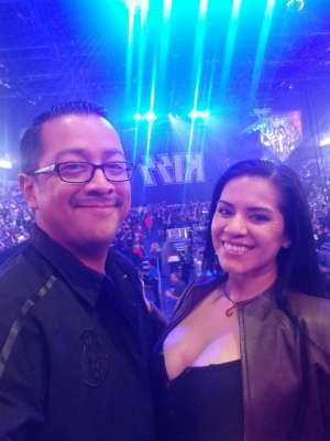 Tino attended KISS: End of the Road World Tour on Mar 2nd 2020 via VetTix