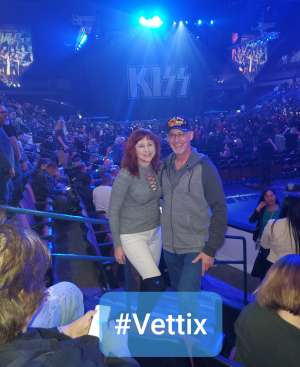 Steven Bishop attended KISS: End of the Road World Tour on Mar 2nd 2020 via VetTix