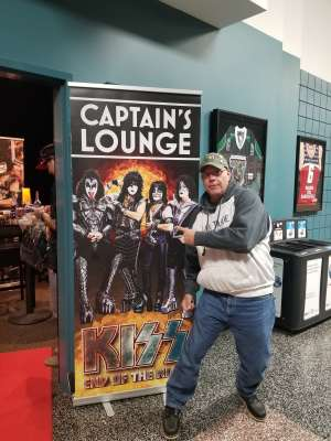 Richard attended KISS: End of the Road World Tour on Mar 2nd 2020 via VetTix