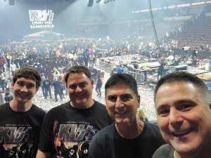 Bryan attended KISS: End of the Road World Tour on Mar 2nd 2020 via VetTix