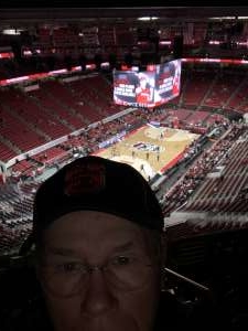 Donnie attended NC State vs. Wake Forest - NCAA Men's Basketball on Mar 6th 2020 via VetTix