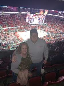 Dean attended NC State vs. Wake Forest - NCAA Men's Basketball on Mar 6th 2020 via VetTix