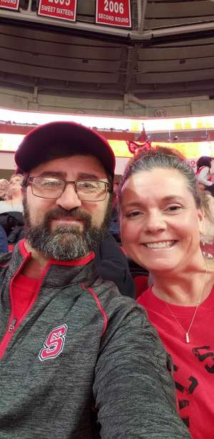 Tony attended NC State vs. Wake Forest - NCAA Men's Basketball on Mar 6th 2020 via VetTix