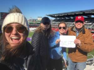 Peter with Daughters attended DC United vs. Inter Miami CF - MLS on Mar 7th 2020 via VetTix