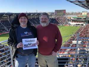 Andrew attended DC United vs. Inter Miami CF - MLS on Mar 7th 2020 via VetTix