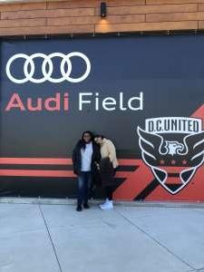 Marshall attended DC United vs. Inter Miami CF - MLS on Mar 7th 2020 via VetTix