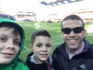 Collin attended DC United vs. Inter Miami CF - MLS on Mar 7th 2020 via VetTix