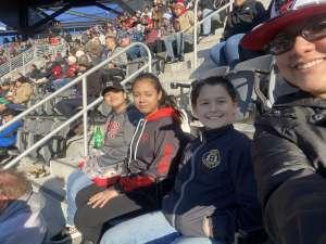Rosa attended DC United vs. Inter Miami CF - MLS on Mar 7th 2020 via VetTix