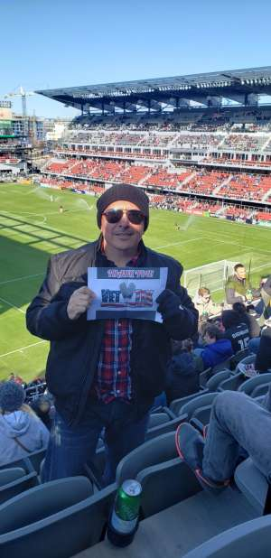 Thank you donors attended DC United vs. Inter Miami CF - MLS on Mar 7th 2020 via VetTix