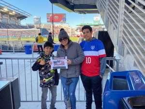 Crystal  attended DC United vs. Inter Miami CF - MLS on Mar 7th 2020 via VetTix