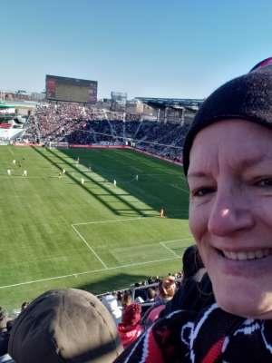 Melinda  attended DC United vs. Inter Miami CF - MLS on Mar 7th 2020 via VetTix