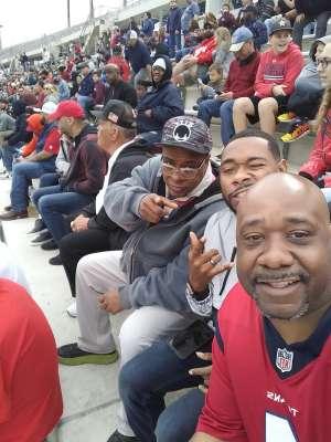 Robert L. attended Houston Roughnecks vs. Seattle Dragons - XFL on Mar 7th 2020 via VetTix