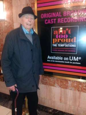 Donald Price attended Ain't Too Proud - the Life and Times of the Temptations on Mar 3rd 2020 via VetTix