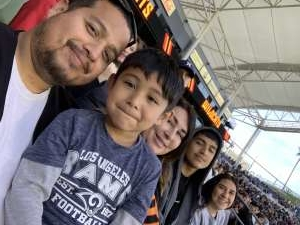 Robert Gonzales attended Los Angeles Wildcats vs. Tampa Bay Vipers - XFL on Mar 8th 2020 via VetTix
