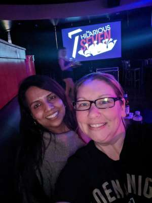 Jillian attended The Hilarious 7 on Mar 13th 2020 via VetTix