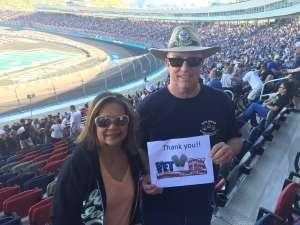 Howard  attended Fanshield 500 - KB100 Kurt Busch Fan Appreciation Tickets - NASCAR Cup Series on Mar 8th 2020 via VetTix